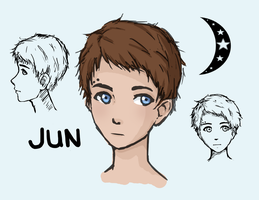 Jun Character Sketches by xxfreedreamerxx