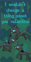 Changeling Valentine Card by Kurenai-Hio