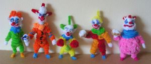 Killer Klowns from Outer Space by fuzzyfigureguy