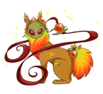 Autumn Guardian by silverwolf-song