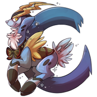 C is for Cobalion by crystalicethorn