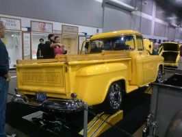 55' Yellow Chevy PickUp D by Eagle07