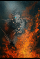 The witch doctor by xabian