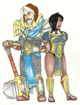 CM - Uther and Karen by Nadalien