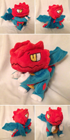 Druddigon Plush by Glacdeas
