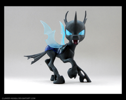 Changeling 3D Printed Figure [Pose 3] by Clawed-Nyasu