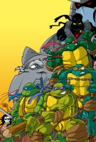 Ninja Turtles2 by themico