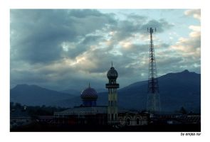 Morning Mosque by emjea