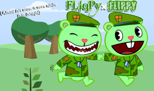 Horrible Pairing #1- Flippy and FLiqPy...? by Cole-The-Meerkat