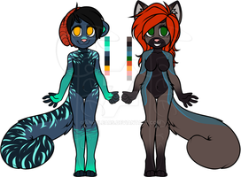 Feline Anthro Adopts [OPEN] by AngelEars