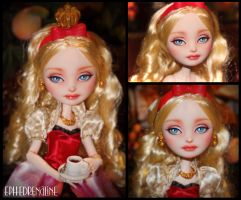 Ever After High - Apple White Custom by Ephedrenaline