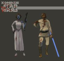 Xombie Star Wars 2 by GaryBedell