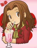 Strawberry Milkshake by CherrygirlUK19