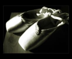 A Passion for Pointe Shoes by Forestina-Fotos