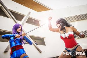 Wonder Woman v/s Psylocke by Susana--chan
