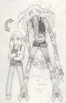 Olivia the Ruster by ridingonemptytrains