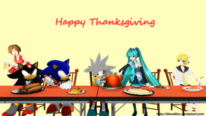 Thanksgiving 2013 by BluexBlur