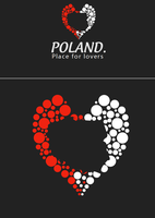 Poland - logo by lewkaART