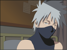 kakashi in hospital by Darrajunior