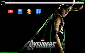Loki Theme by bandchromethemes