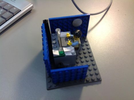 Lego cubicle 2 by terryxross