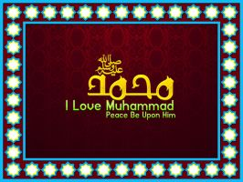 Muhammad[I Love My  Prophet] by MURTUZA1997