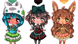 PixelAdopt 3 AUCTION ::CLOSED:: by Yuuriku
