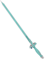Asuna Sword - Lambent Light Colored by CyclesofShadows