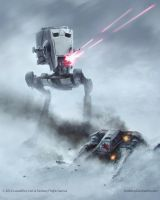 AT-ST Imperial Assault by AnthonyDevine