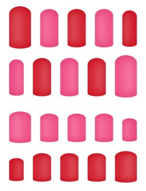 Nails Chart - Summer by Ninelyn