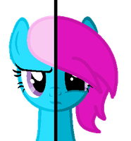 Two Sides Of Rainbow4 by NatalkaPony