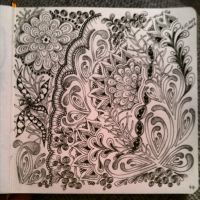 My Zendoodle 365-project, day44 by Nadik