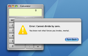 Error: Cannot Divide by Zero by Games4me