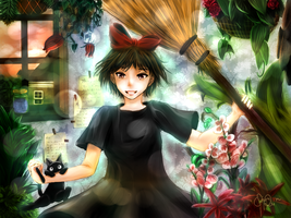 Kiki's Delivery Service--wicked version? by Shou-rei-on