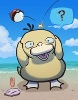 You Caught a Psyduck by betsyillustration