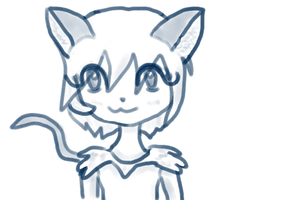Catgirl Doodle by Vocapony