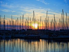 Howth Sunset 121B by superflyninja