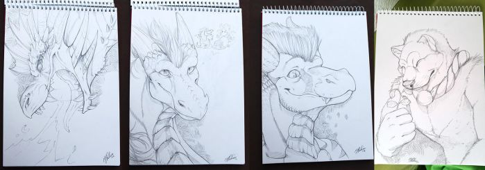 Sketches in May by Leundra