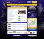 GTA Website Event Page by treecore