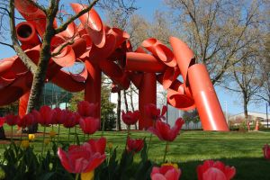 Spring at Seattle Center by Bspacewiz2