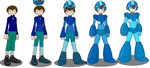 COM: Dylan turning into Megaman X by ginyu1992
