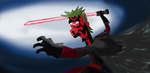 Darth Maul Ferb by arthurprime
