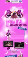 Chyna Phat Myspace layout. by AMENTADESIGN