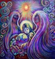 World Mother Angel by DivineLightAngels