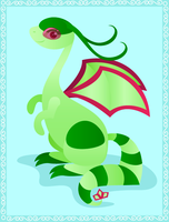Flygon for digimondragonmaster by squid-on-a-stick