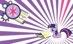 Twilight Sparkle Wall by Evilarticfox