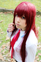 Steins Gate: Makise Kurisu Cosplay by SnowHaze