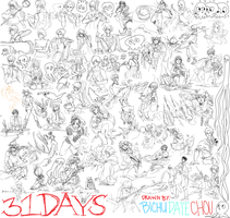 MIGHTY 31DAYS COLLAB by Bichu