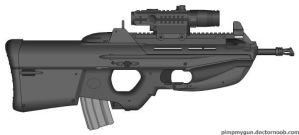 The Mechanic F2000 Tactical by Scarlighter