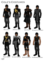 Cole's costume design by joshuad17